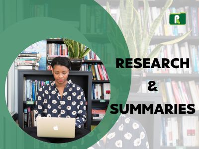 Research and Summaries